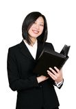 Smiling asian woman Royalty Free Stock Photos