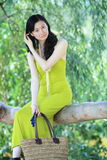 Smiling asian women Stock Photo