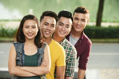 Cheerful young people Royalty Free Stock Photos