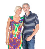Smiling attractive middle-aged couple Royalty Free Stock Photos