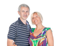 Smiling attractive middle-aged couple Stock Photo