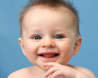 Smiling Baby Stock Photography