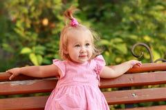 Smiling baby Stock Image