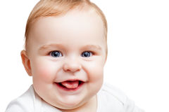Smiling baby Stock Photos