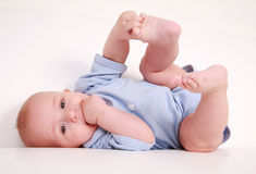 Smiling baby Royalty Free Stock Images