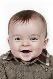 Smiling baby boy royalty free stock image