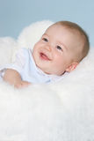 Smiling baby boy Royalty Free Stock Image