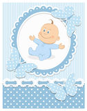 Smiling baby boy Royalty Free Stock Images