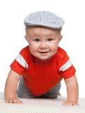 Smiling baby boy Stock Photos