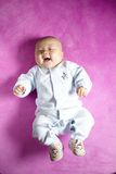 Smiling baby boy Royalty Free Stock Photo