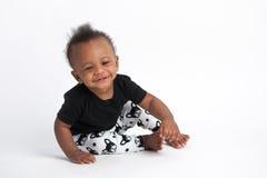 Smiling Baby Boy stock image