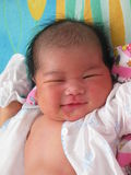 Smiling Baby Closeup Stock Images
