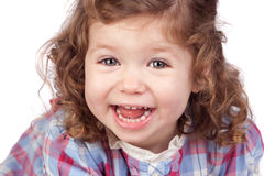 Smiling baby girl Royalty Free Stock Photos