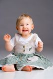 Smiling baby girl Royalty Free Stock Photography
