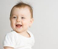 Smiling baby girl Royalty Free Stock Photo