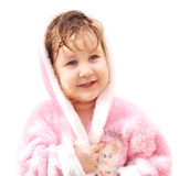 Smiling baby girl Royalty Free Stock Images