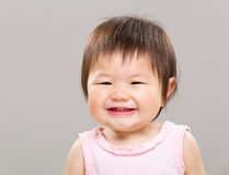 Smiling baby girl Stock Photography