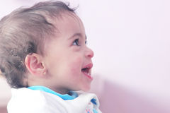 Smiling baby girl Royalty Free Stock Photo