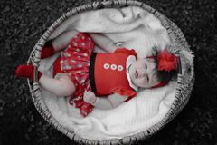 Smiling baby girl portrait Royalty Free Stock Photography