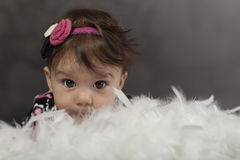 Smiling Baby Girl Stock Images