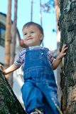 Smiling baby at the park Stock Photography