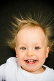 Smiling baby portrait Royalty Free Stock Photos