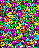 Smiling Background Royalty Free Stock Images