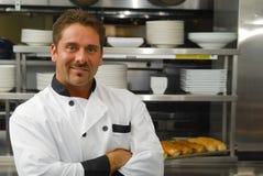 Smiling baker Royalty Free Stock Photo