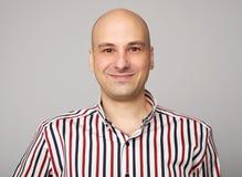 Free Smiling Bald Man Stock Photo - 115370850