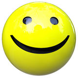 Smiling ball Royalty Free Stock Photo