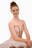 Smiling ballerina Royalty Free Stock Photo