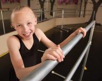 Smiling Ballet Student Stock Photo