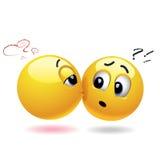 Smiling balls Stock Image