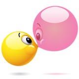 Smiling Balls Royalty Free Stock Image