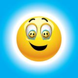 Smiling balls Royalty Free Stock Images