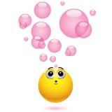 Smiling balls Stock Photography