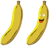 Smiling banana Royalty Free Stock Image