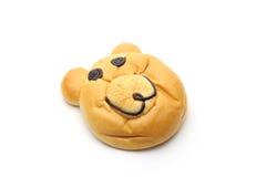 Smiling bear bread Royalty Free Stock Image