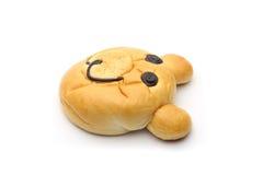 Smiling bear bread Stock Photo