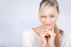 Smiling beautiful female Royalty Free Stock Photo