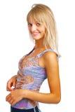 Smiling beautiful woman Royalty Free Stock Image