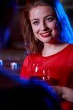 Smiling beautiful woman Stock Image