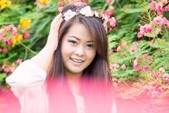 Smiling Beautiful Woman Royalty Free Stock Photos