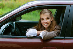 Smiling beautiful young Royalty Free Stock Image