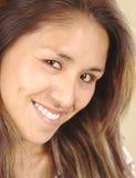Smiling Beautiful Young Peruvian Woman Royalty Free Stock Image