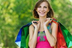 Smiling beautiful young woman Stock Photo
