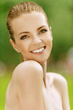 Smiling beautiful young woman Royalty Free Stock Photo
