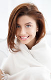 Smiling beautiful young woman Royalty Free Stock Image