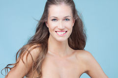 Smiling beauty woman Royalty Free Stock Photo