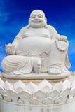 Smiling Big Buddha Statue isolated Stock Photography